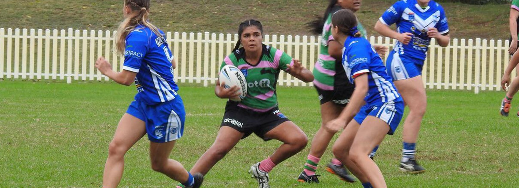 Forward dominance leads Rabbitohs Women to big victory