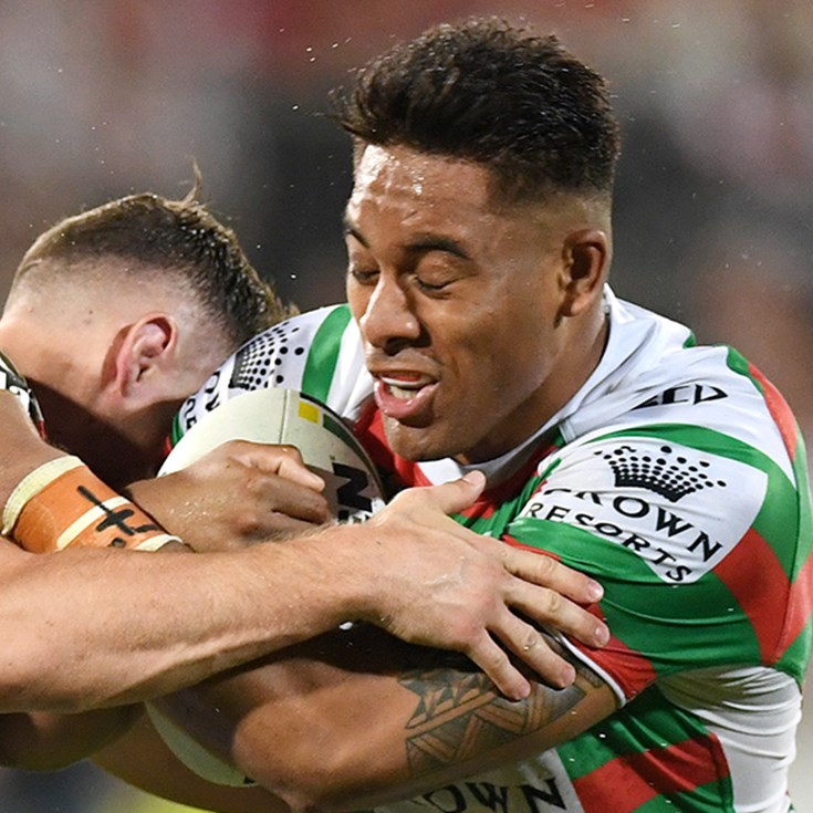 Tatola pleased with Rabbitohs' tenacity