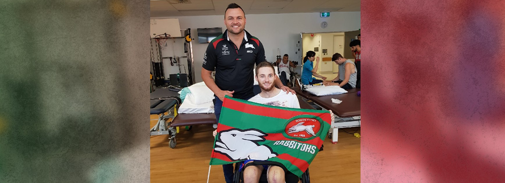 Rabbitohs support Josh's recovery