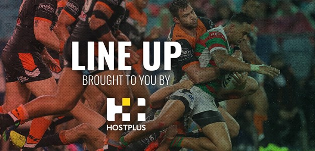 Line Up Round 19 - Wests Tigers