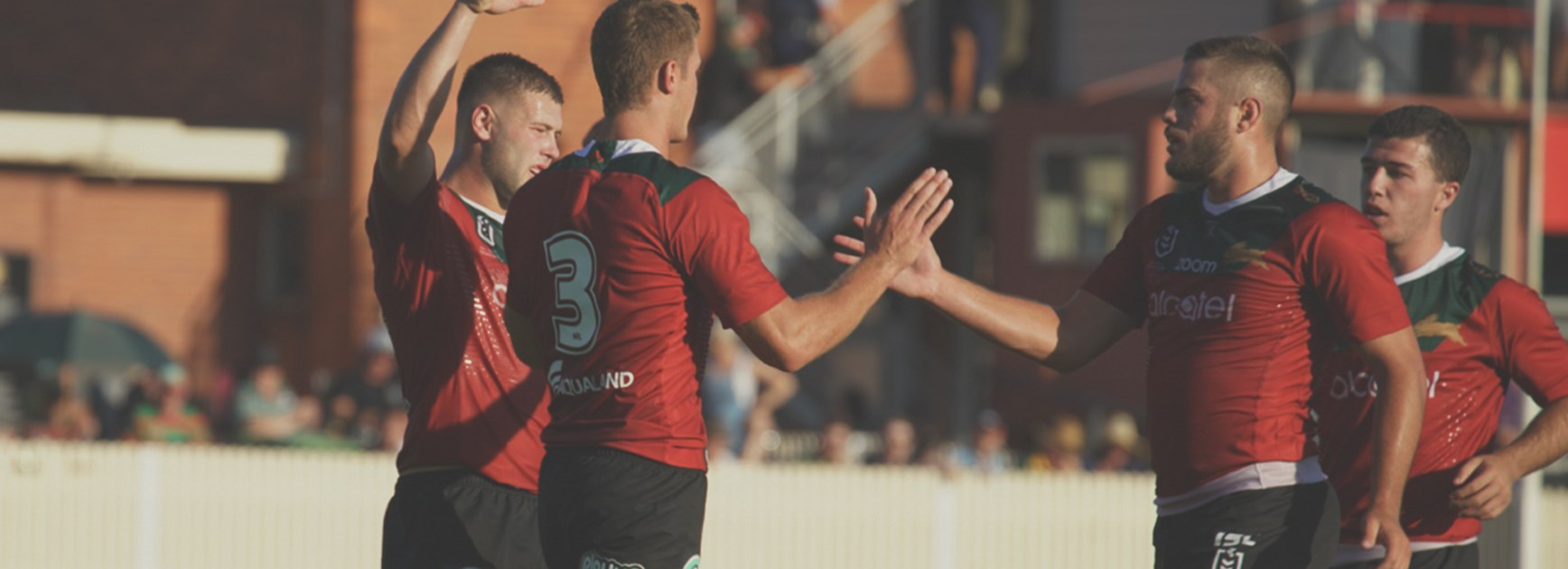 Rabbitohs complete dominant first hit-out against Riverina