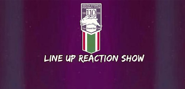 Line Up Reaction Show - Rd 4 v Bulldogs