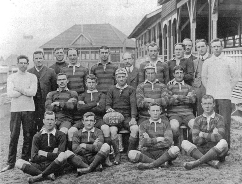 South Sydney Rabbitohs 1908 Premiership-Winning Team