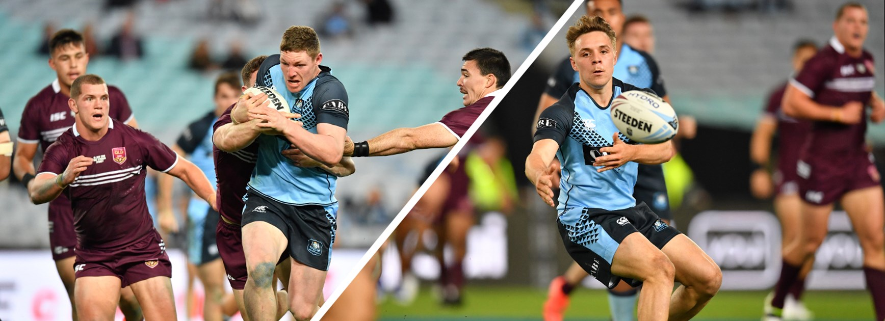 Rodwell and Taaffe put in strong performances in Blues dominance of QLD