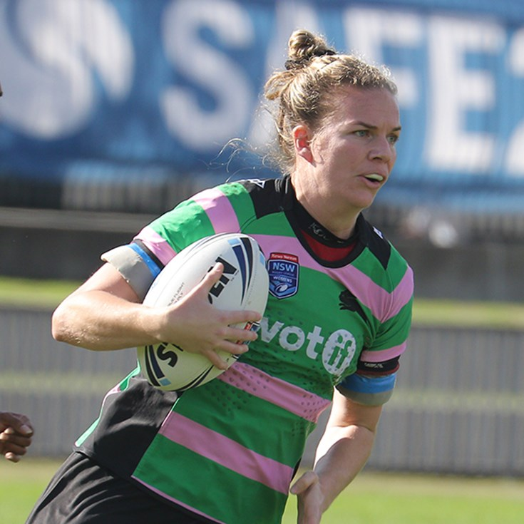 Rabbitohs Women beaten by ladder leaders