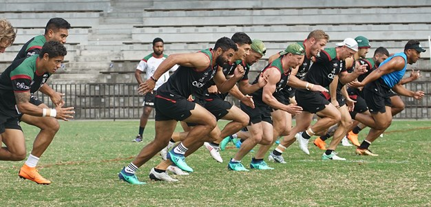 Gallery - Rabbitohs rip in ahead of big Round 5 test