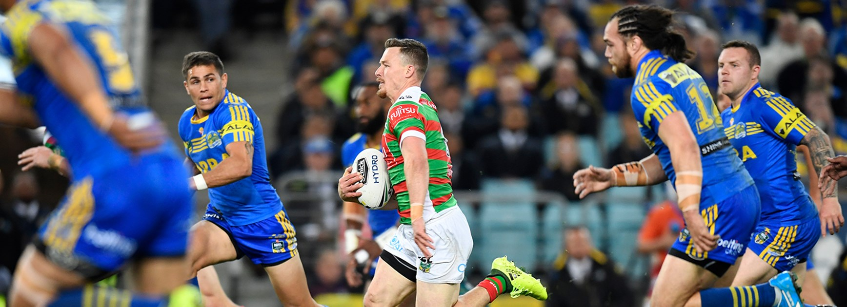 Graham out of Round 15 clash with Eels