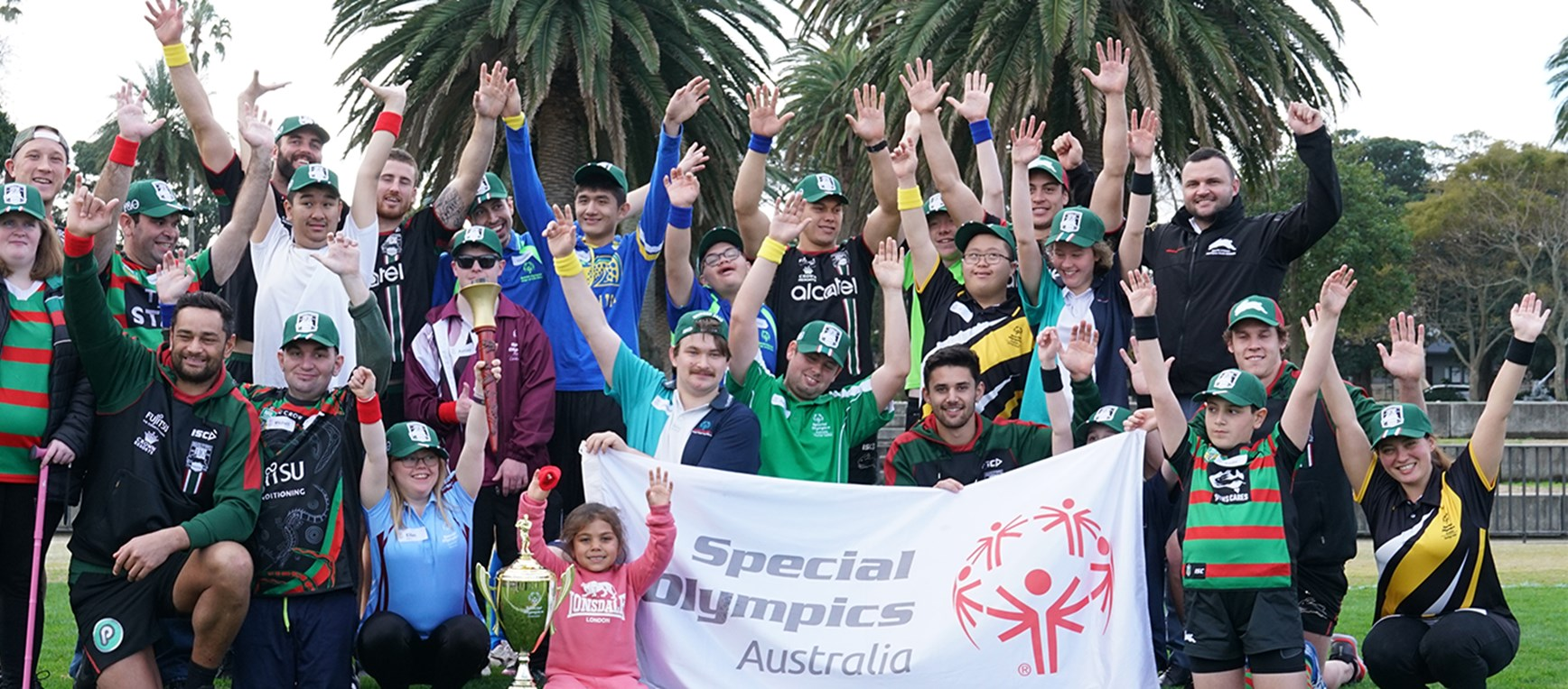 Gallery - Mini Special Olympics lights up Redfern Oval