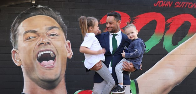 John Sutton mural revealed to celebrate 300 games