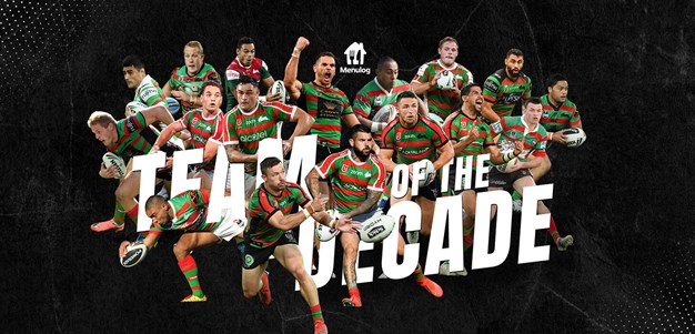 Rabbitohs unveil Team of the Decade