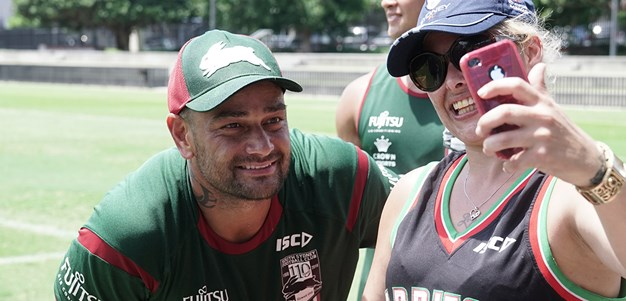 Support the Red and Green at our open training day!