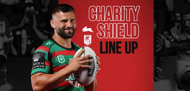 Rabbitohs Team List for Charity Shield