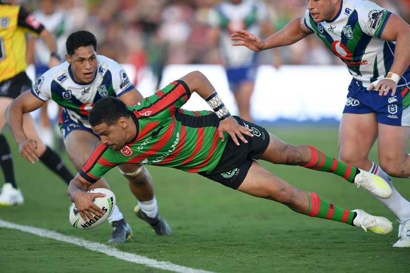 Cody Walker bagged four tries the last time the Rabbitohs held a game in the Sunshine Coast.