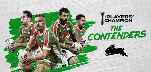 South Sydney guns nominated for Player's Champion Award