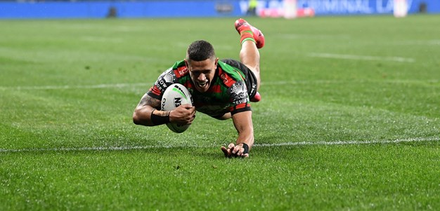 Gagai bags first NRL hat-trick as Souths sink Tigers