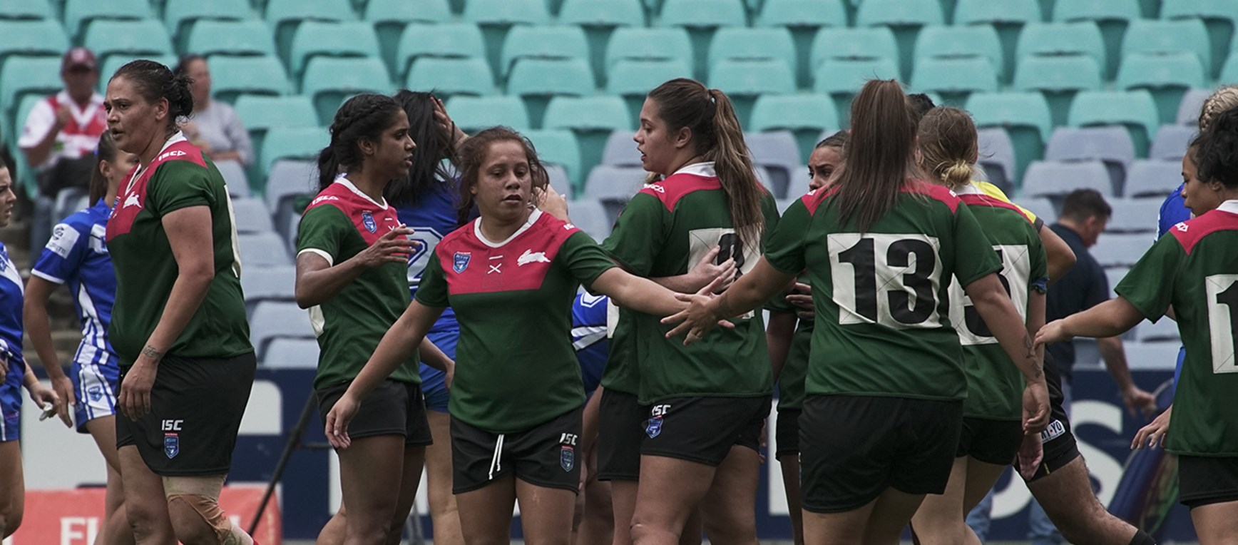 Gallery - Rabbitohs women battle it out at ANZ