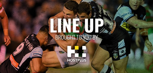 Line Up Round 13 - Sharks