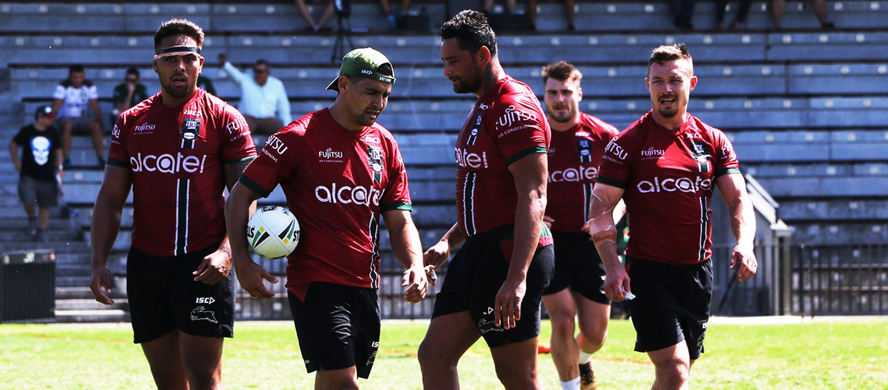 Gallery - Rabbitohs dig in ahead of Round 3