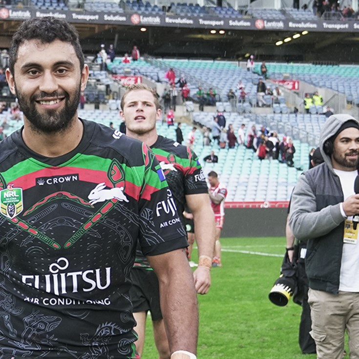 Win a match worn Indigenous Round Jersey
