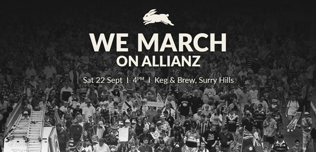 We march on Allianz