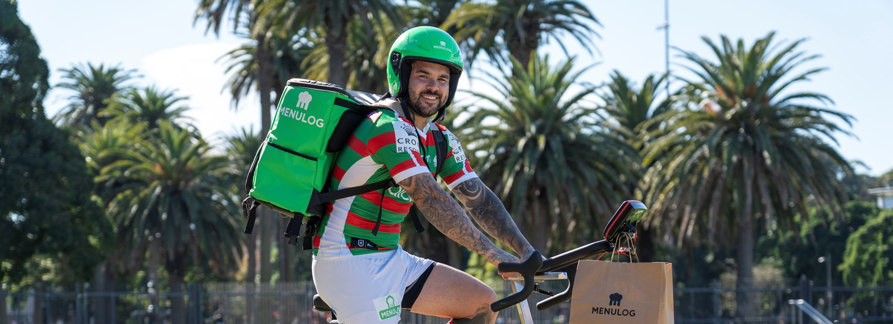 Menulog joins Rabbitohs family as Official Foody Partner