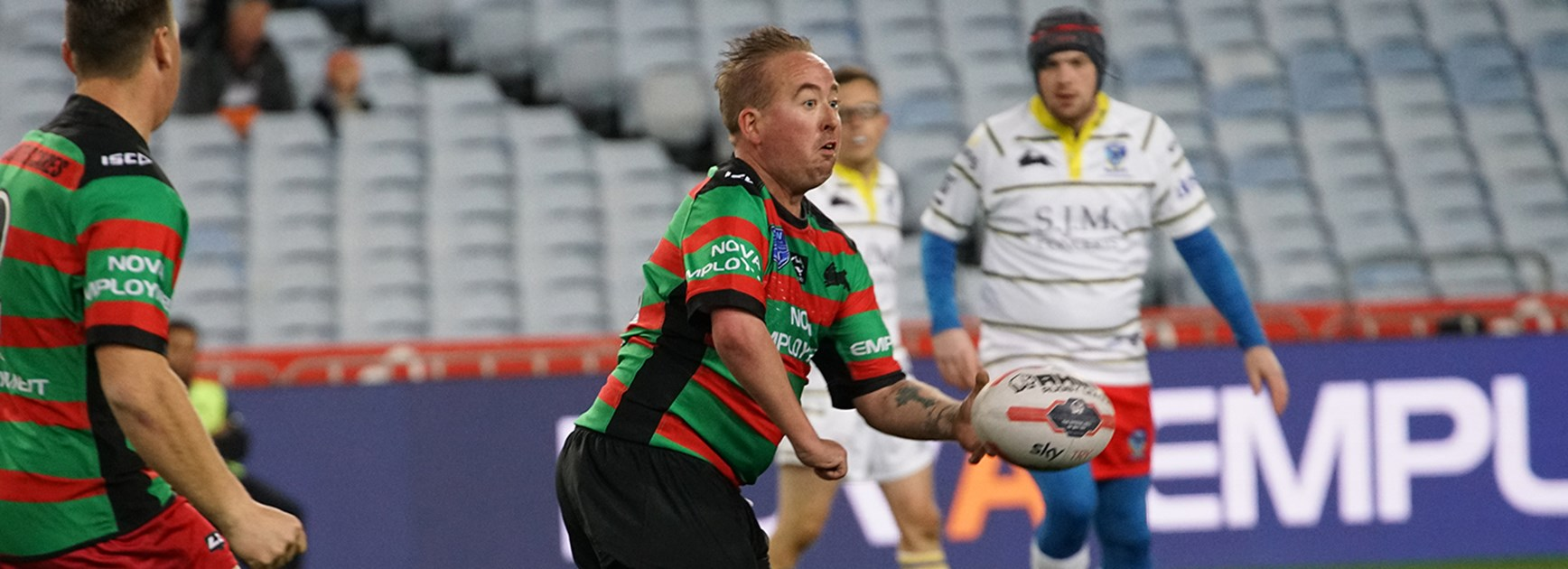 Souths players star in first game of Physical Disability Championship