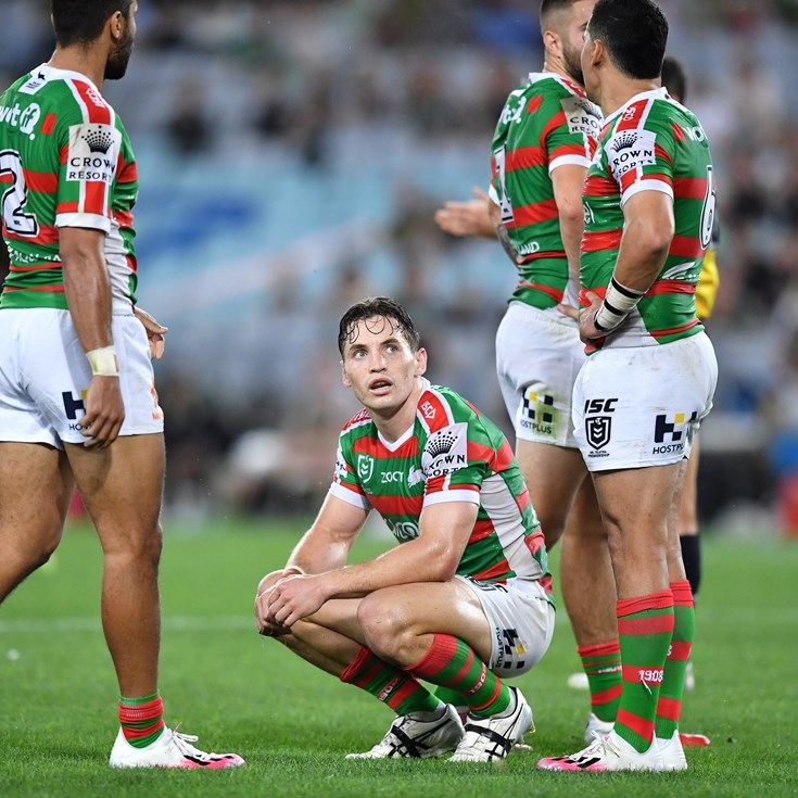Courageous Rabbitohs can't get past the Panthers.