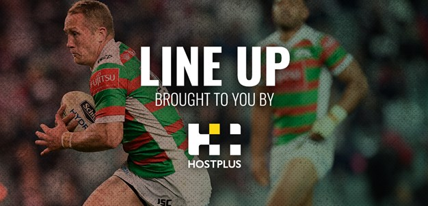Line Up Round 6 v Roosters