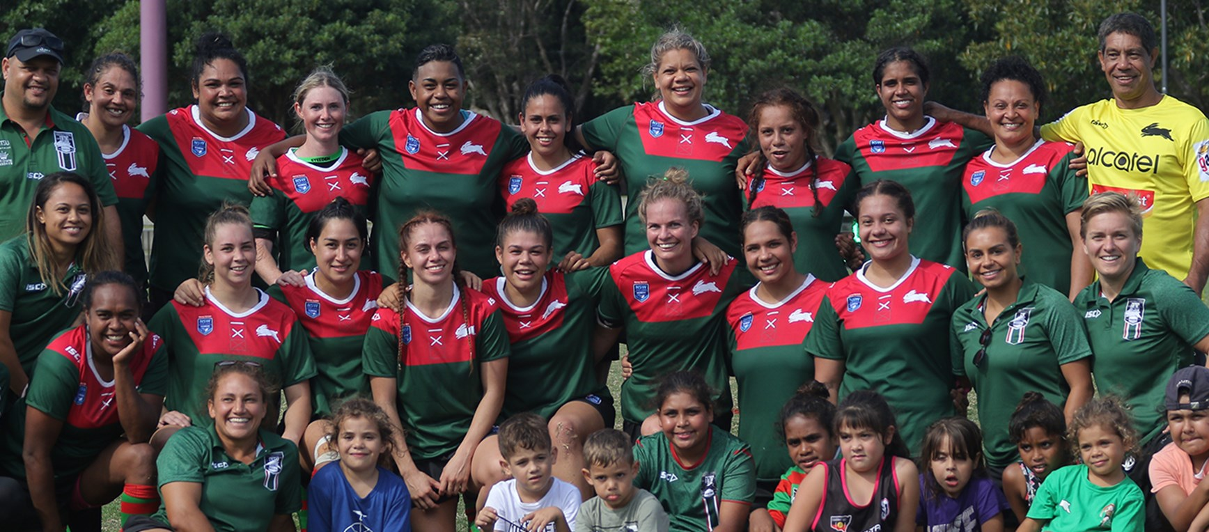 Gallery - Rabbitohs women open with a big win