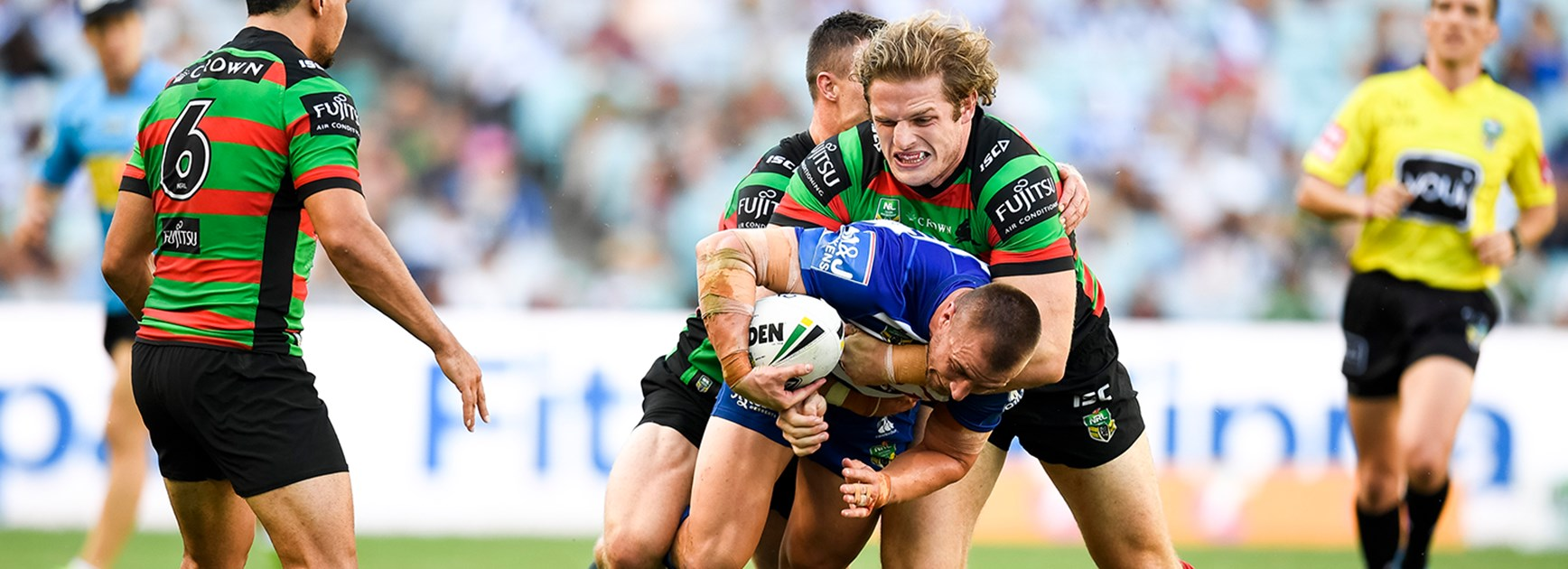 Rabbitohs make squad changes for Dragons clash