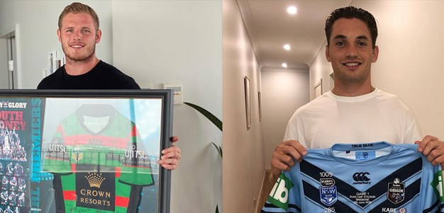 Murray and Burgess auction jerseys to support Bushfire appeal