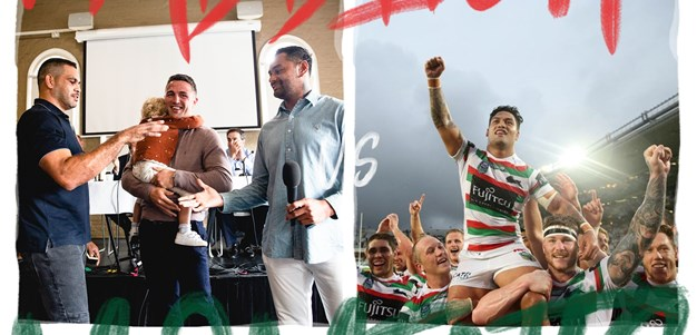 Sutton, Inglis and Burgess inducted as Life Members vs Auckland Nines Premiers