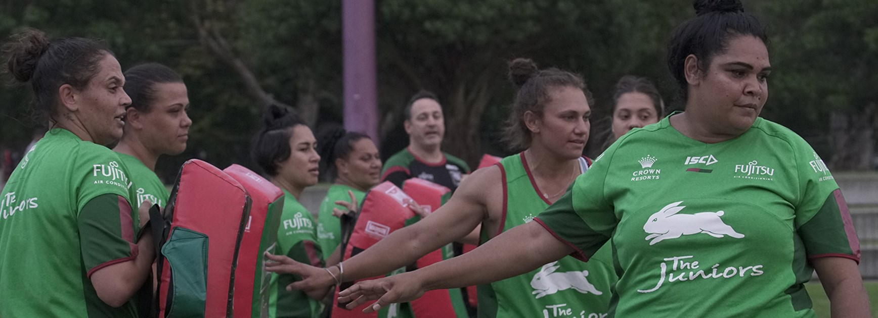 Coach Allende - History awaits Rabbitohs women