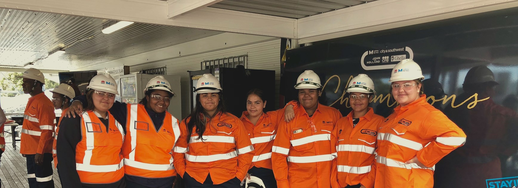 School-to-Work Students given VIP tour of Sydney Metro