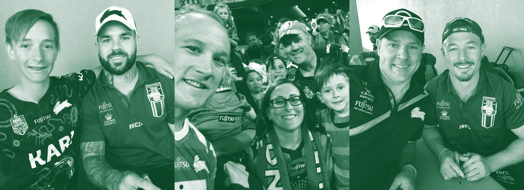 Big trip for Rabbitohs family