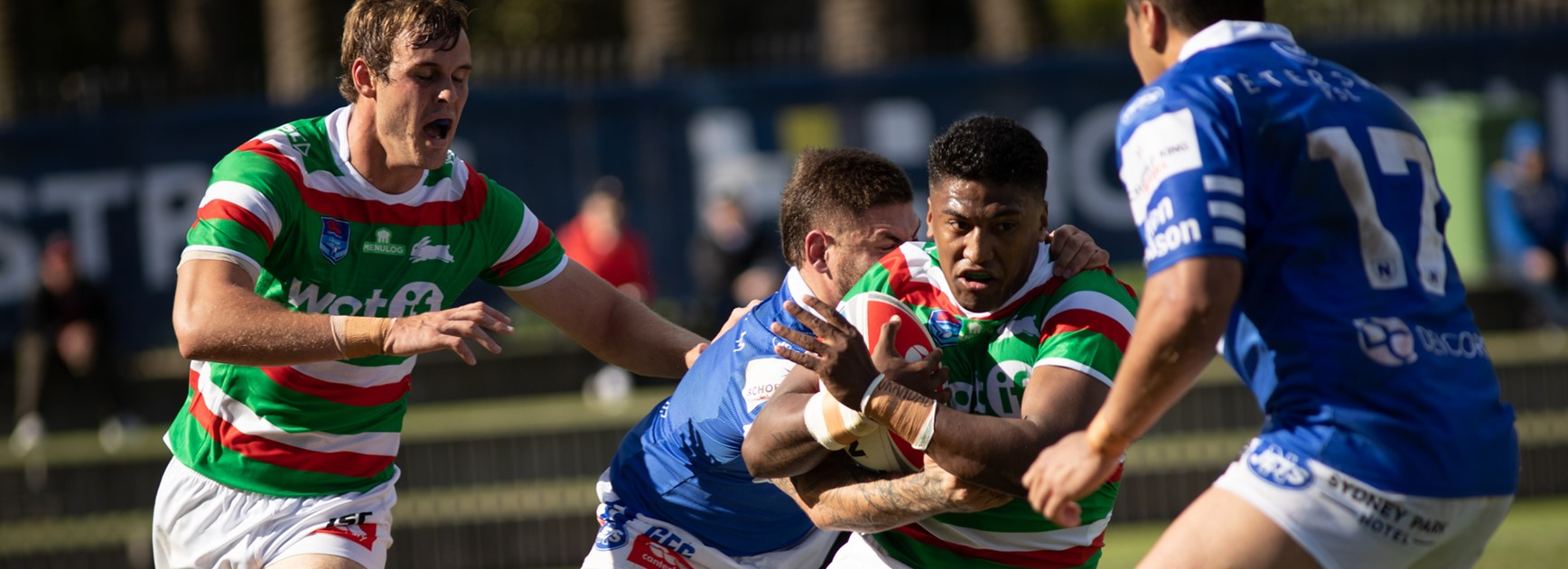 Rabbitohs fall to defending premiers Newtown 32-12 in Canterbury Cup season-opener