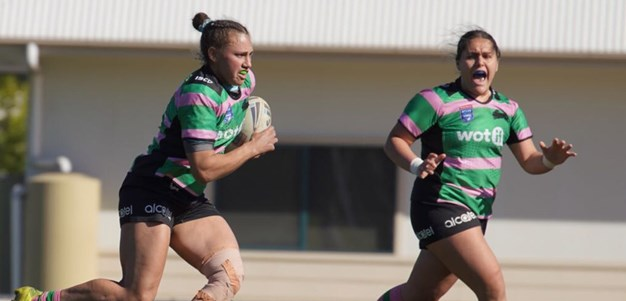 Harvey Norman Women's Premiership side put in determined effort in final match of the season
