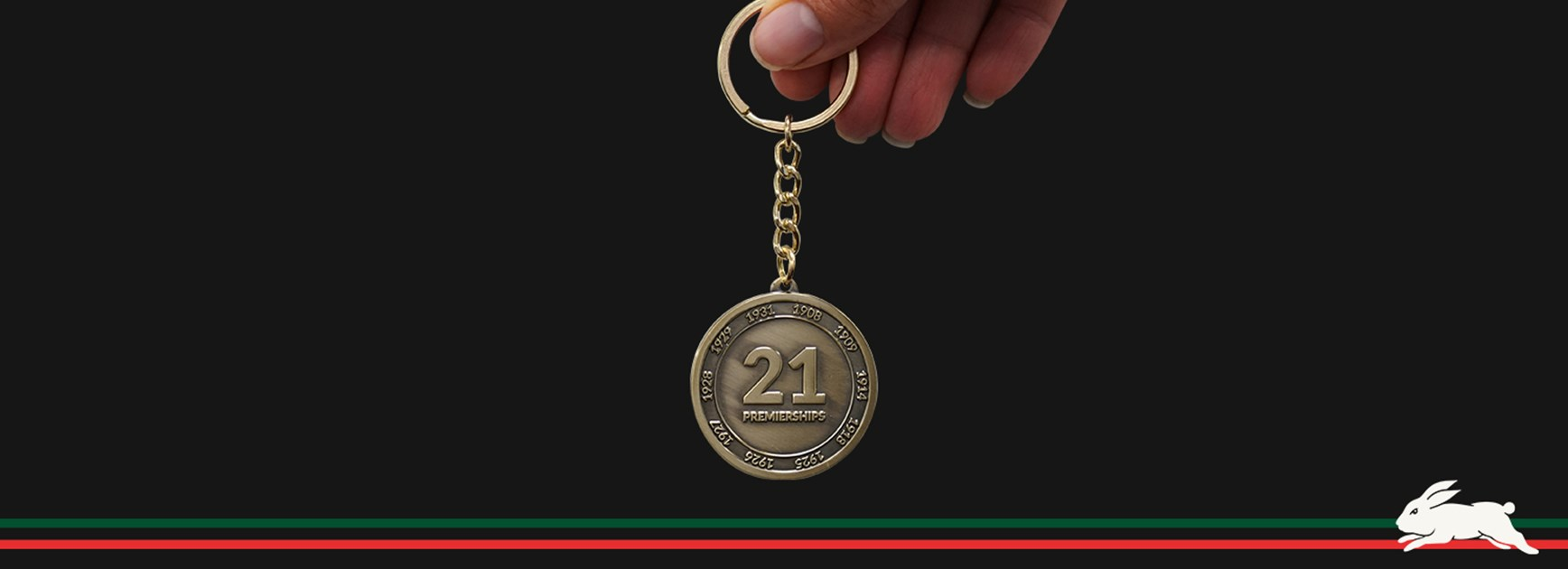 Last chance to grab your 'Commemorative Premiership History Keyring'
