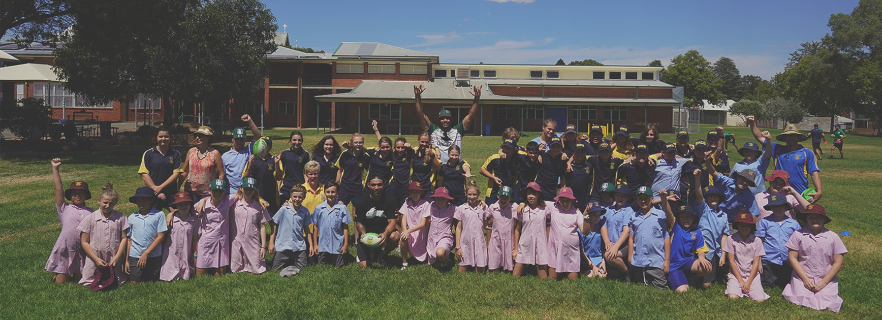 Wellington receives full Souths Cares and UNSW Experience