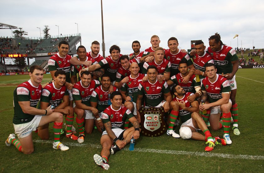 The 2014 Charity Shield was played at WIN Stadium in Wollongong, the first time the match had ever been held outside of Sydney. The Rabbitohs won convincingly 38 points to 20.