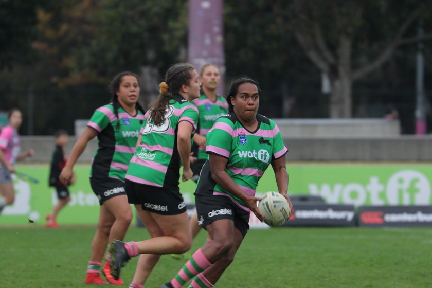 Lavina O'Mealey is one of the few members of the team that played in last year's Harvey Norman Women's Premiership Grand Final, and will be looking to steer the side this Saturday for an upset win.