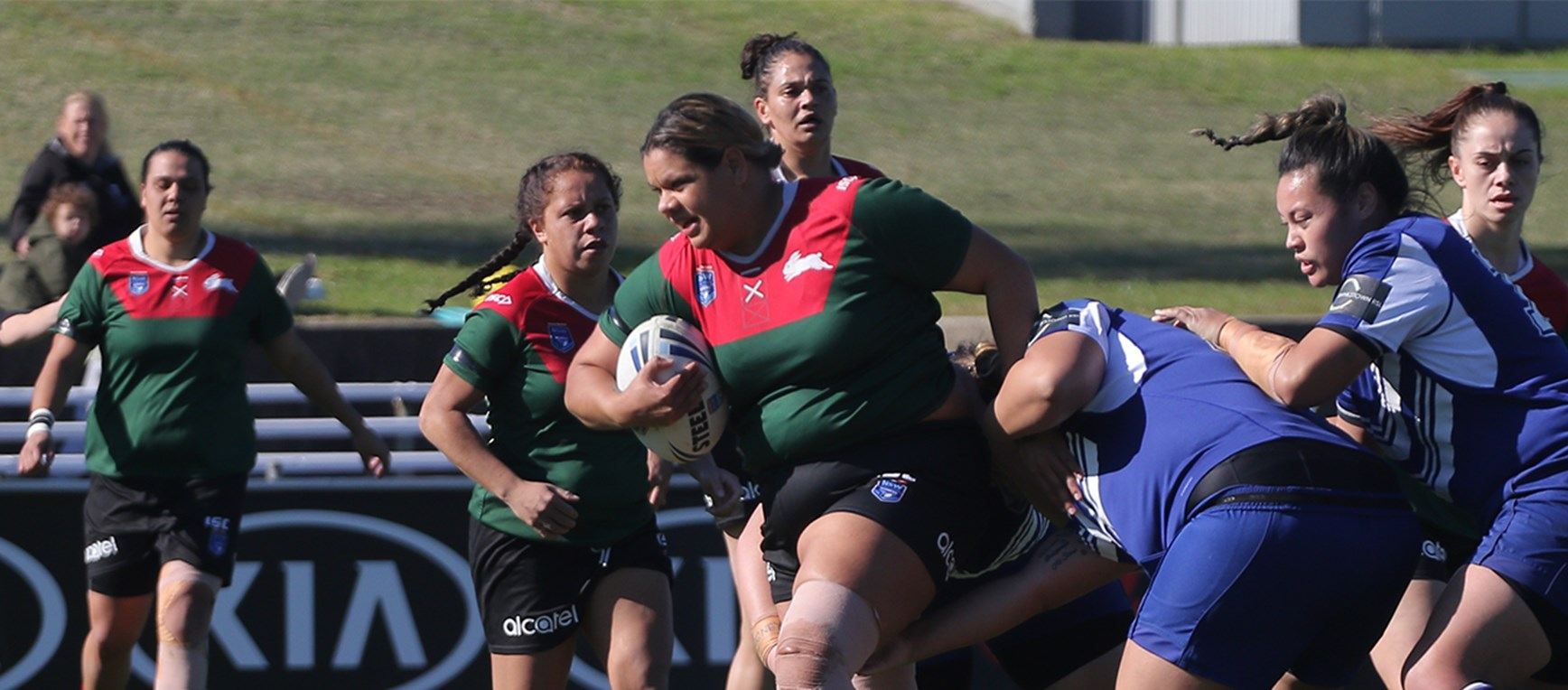Gallery - Rabbitohs and Bulldogs share spoils