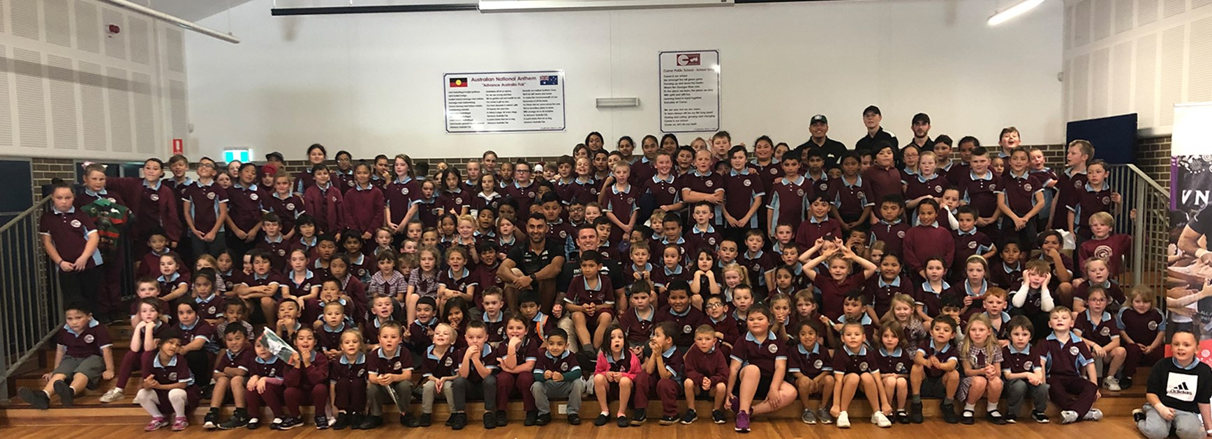 Souths Cares delivers successful Wellbeing Program at Curran Public School