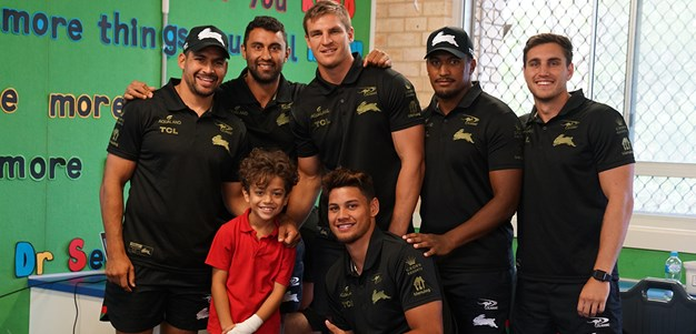 Souths Cares and the Rabbitohs Promote Safer Internet Day