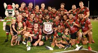 Rabbitohs beat Dragons 22-18 in Mudgee