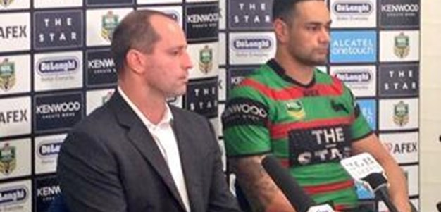 Rabbitohs v Knights rd 12 (press conference)