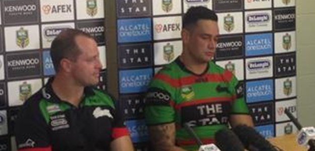 Rabbitohs v Titans rd 14 (press conference)
