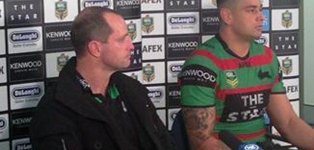 Rabbitohs v Dragons rd19 (Press Conference)