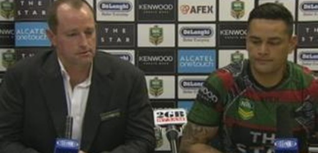 Rabbitohs v Sea Eagles rd23 (press conference)