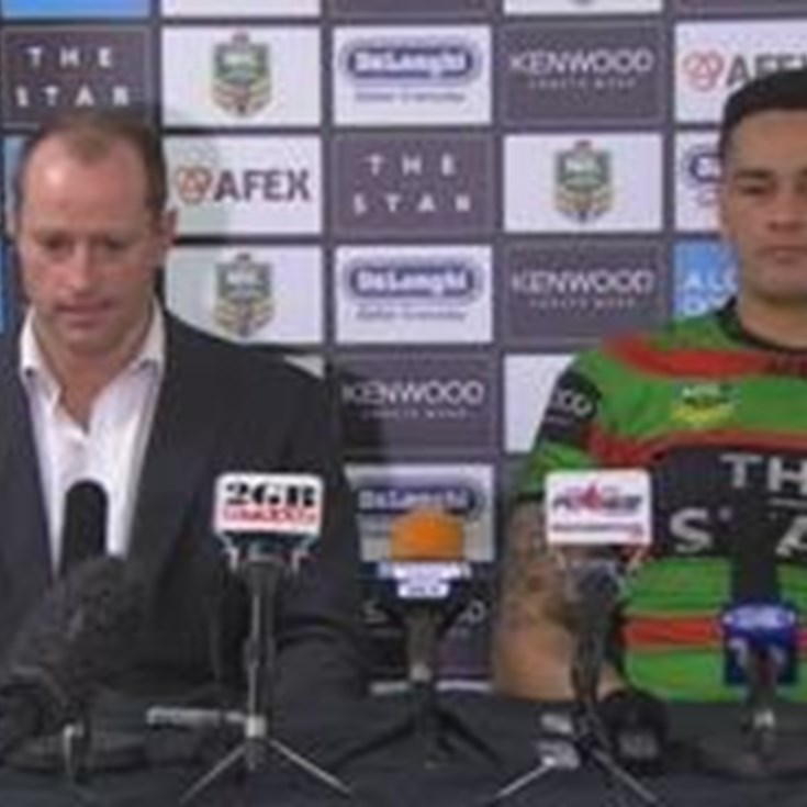Rabbitohs v Bulldogs rd 24 (press conference)